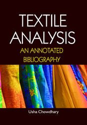 Textile Analysis: An Annotated Bibliography
